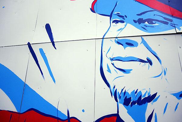 Chipper Jones Mural
