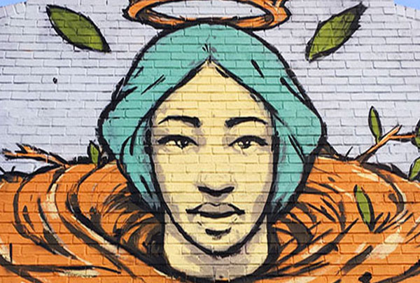 """Our Lady of Buford Highway"" Mural"
