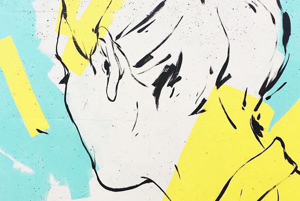"""""""Waves"""" Mural"""
