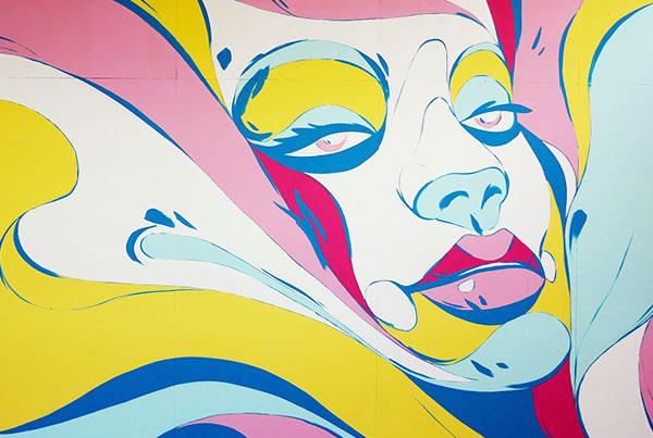 """""""Aurora"""" Mural"""