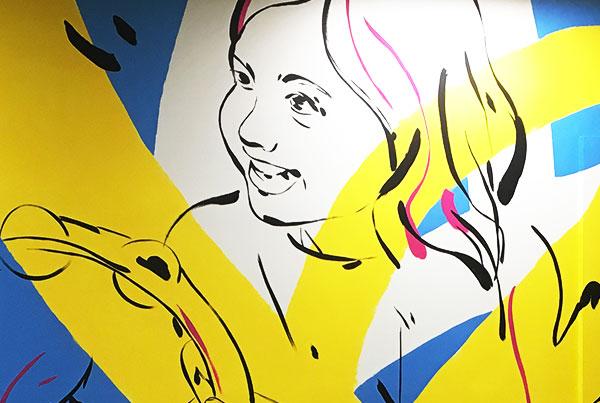 Songs For Kids Foundation Mural